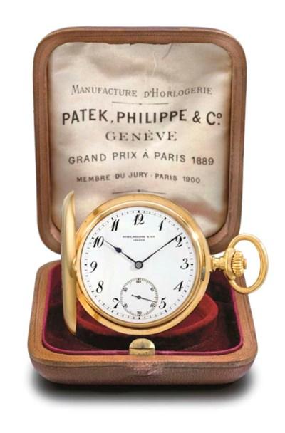 Patek Philippe. A fine 18K gol