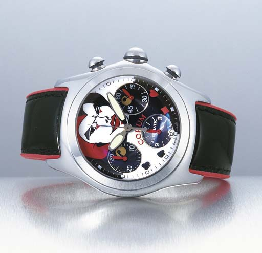 CORUM. A LIMITED EDITION STAIN