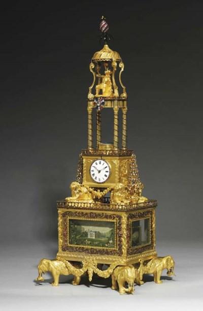 A GEORGE III ORMOLU AND PASTE-