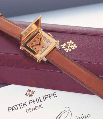PATEK PHILIPPE. A FINE 18K TWO