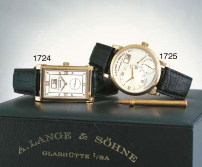 A. LANGE & SOHNE. A FINE 18K P