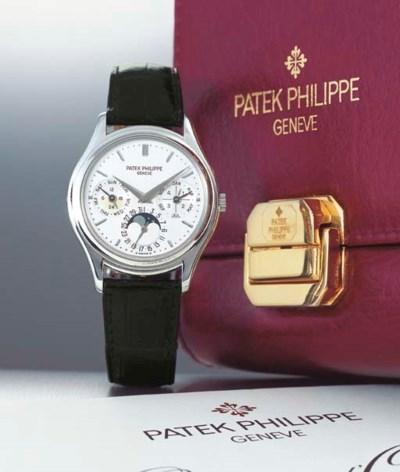 PATEK PHILIPPE. A FINE PLATINU