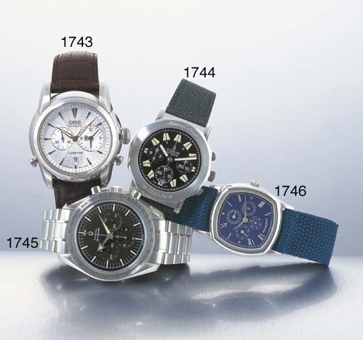 ORIS. A LIMITED EDITION STAINL