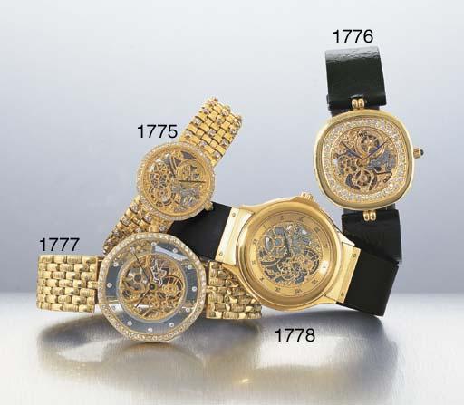 ROYAMA. AN 18K GOLD AND DIAMON