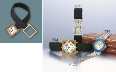 CARTIER. AN UNUSUAL LADY'S GOL