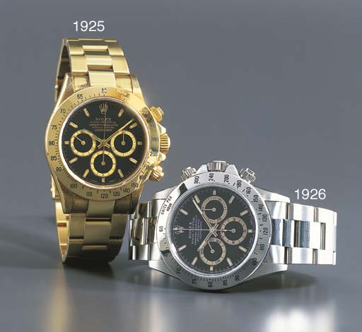 ROLEX. AN 18K GOLD SELF-WINDIN