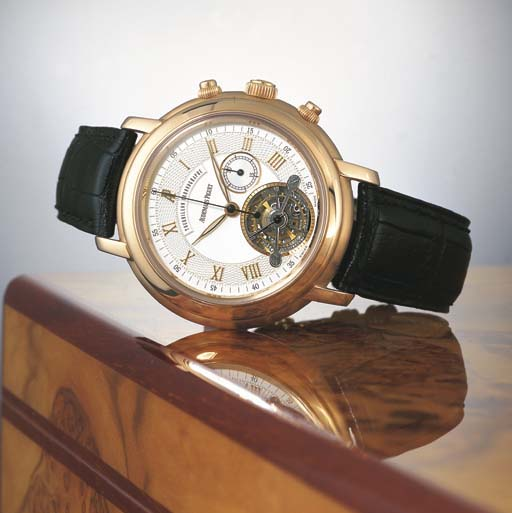 AUDEMARS PIGUET. A FINE AND RA