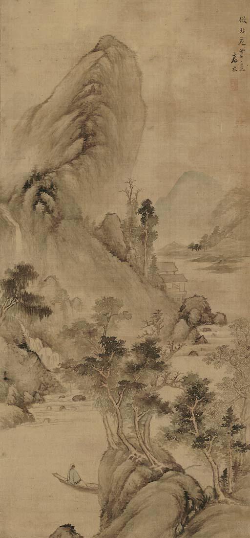 GAO CEN (CIRCA 1643-1679)