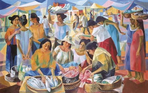 Vicente Silva Manansala The Philippines 1910 1981