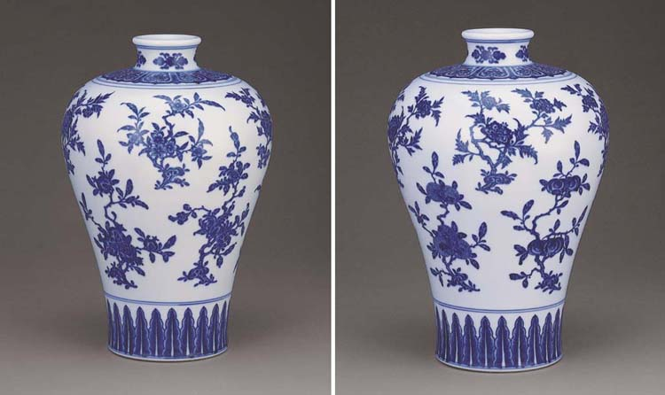 A MAGNIFICENT MING-STYLE BLUE