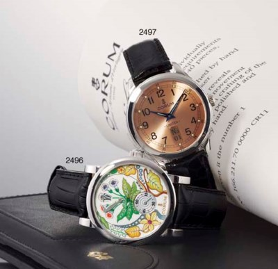 CORUM. A LIMITED EDITION PLATI