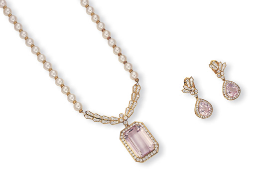 A SUITE OF KUNZITE, CULTURED P