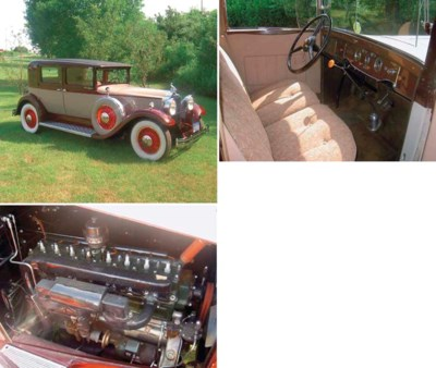 1931 PACKARD 833 CLUB SEDAN