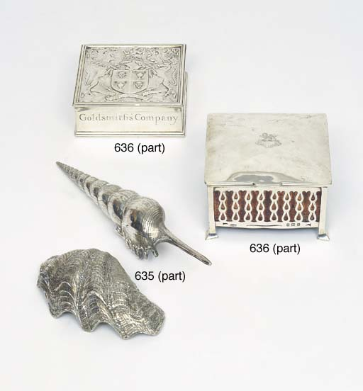 A COLLECTION OF ITALIAN SILVER