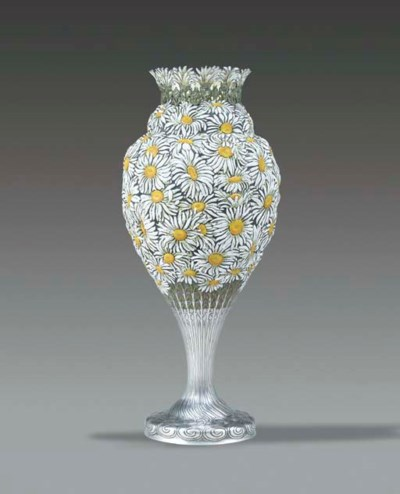 AN IMPORTANT SILVER AND ENAMEL