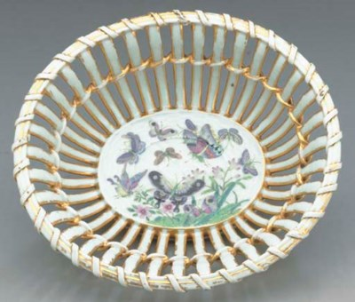 A CHINESE EXPORT PORCELAIN RET