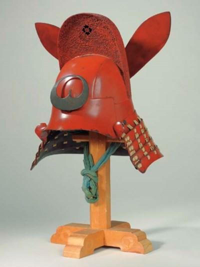 A Kawari Kabuto Helmet