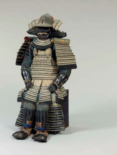 A White-Laced Suit of Armor