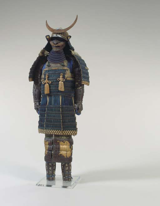 A Blue-Laced Suit of Armor