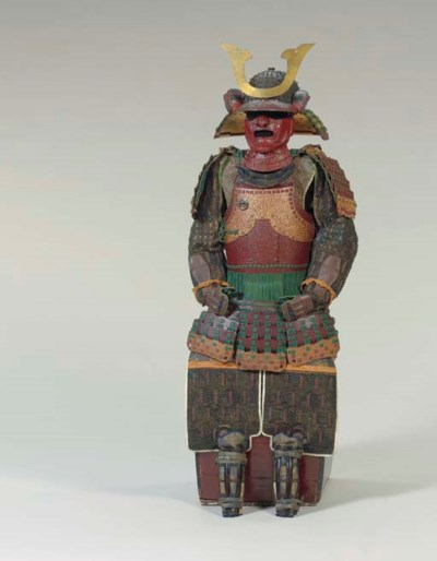 A Kaga Style Suit of Armor