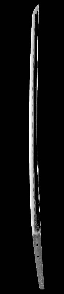 An Osaka Katana with Koshirae