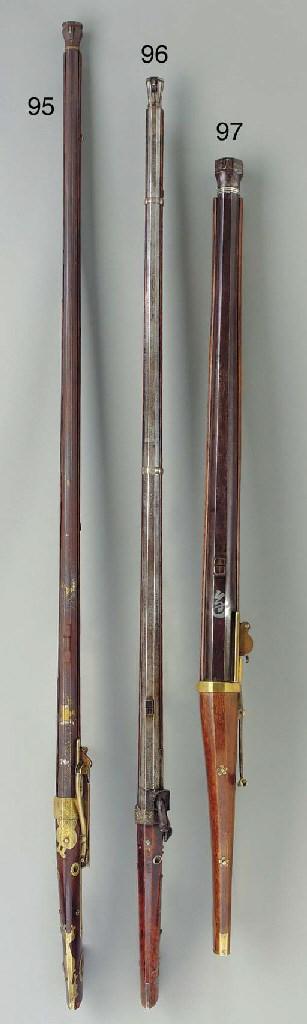 A Matchlock Rifle