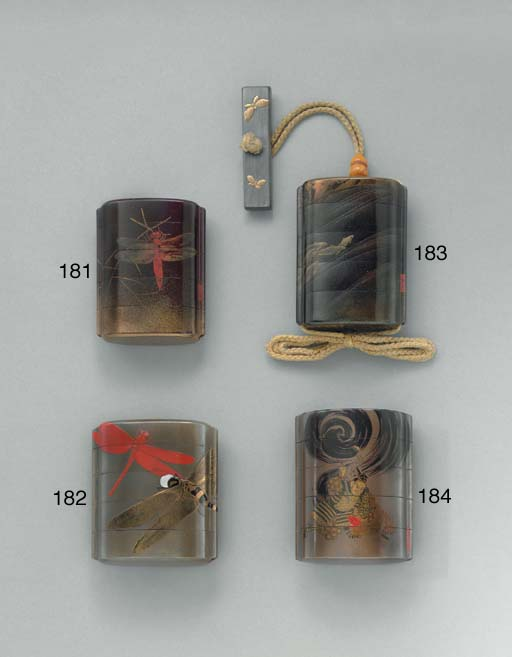 A Four-Case Lacquer Inro