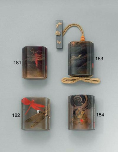 A Four-Case Lacquer Inro**