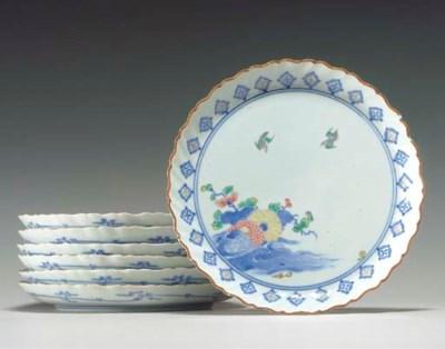 Seven Porcelain Dishes