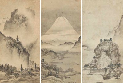 After Sesshu Toyo (18th-19th C