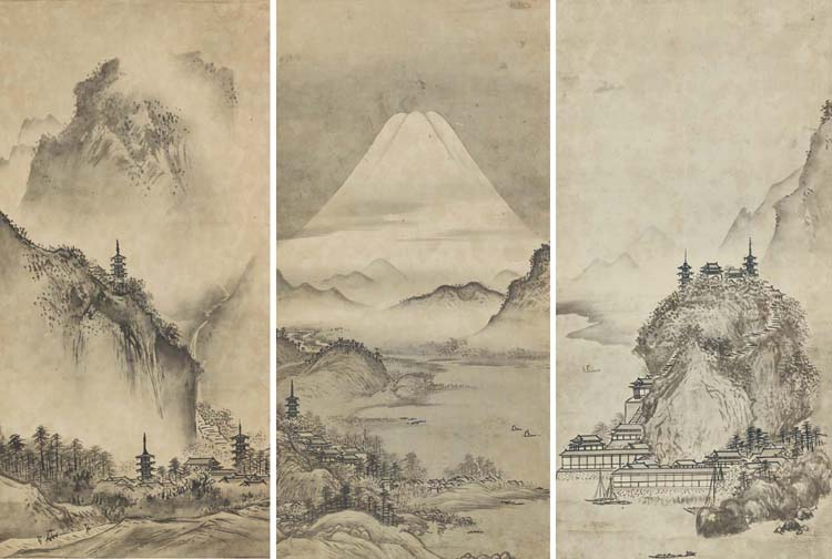 After Sesshu Toyo (18th-19th Century)