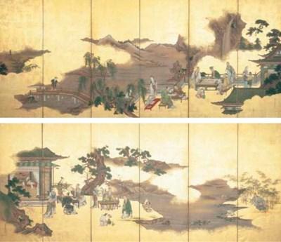 Kano Toun (Masunobu) (1625-169