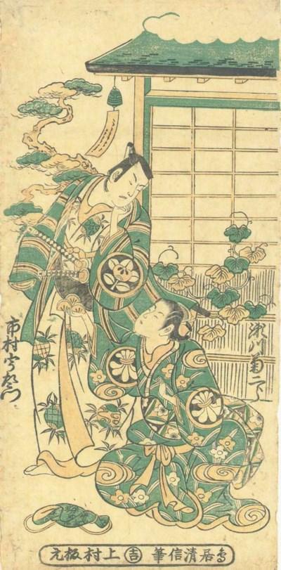 Torii Kiyonobu II (1706-1763)