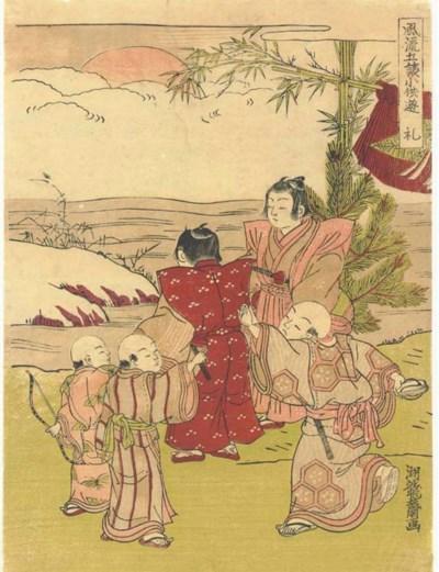 Isoda Koryusai (FL. 1768-88) U