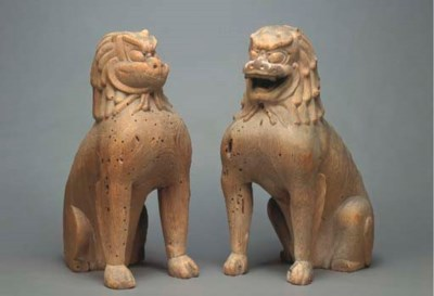 Pair of Guardian Dogs (Koma-in