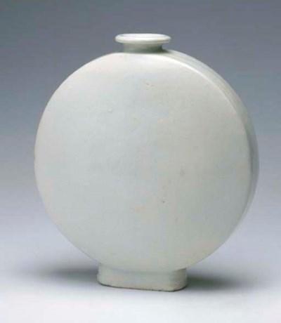 A Porcelain Flask