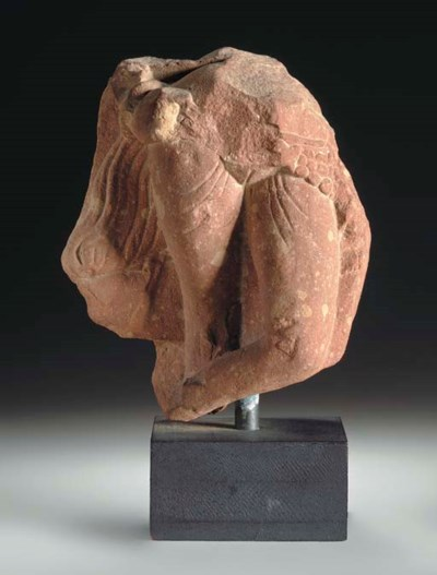 A Double-sided Red Sandstone F