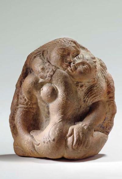 A Rare Terracotta Relief of Lo