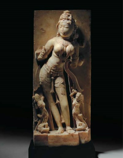 A Marble Figure of a Goddess