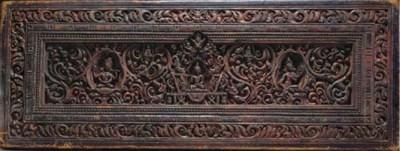 A Wood Manuscript Cover