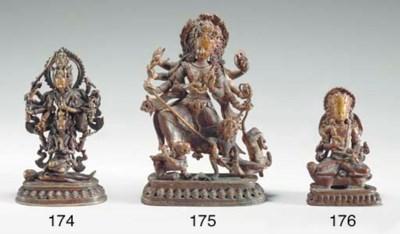 A Bronze Figure of Agni