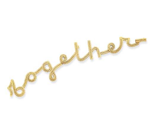 A GOLD BRACELET, BY BUCCELLATI