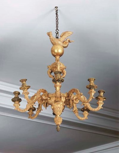 A QUEEN ANNE GILTWOOD AND GILT