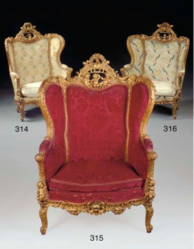 A large Continental Rococo sty