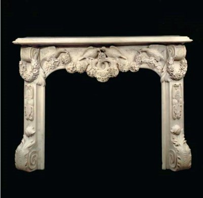 A fine Italian carved Carrara