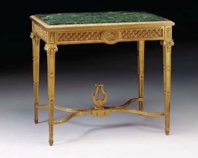 A Louis XVI style ormolu centr