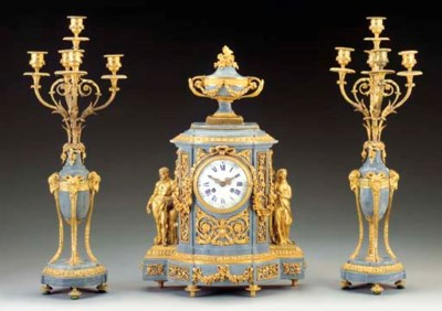 An assembled Louis XVI style o