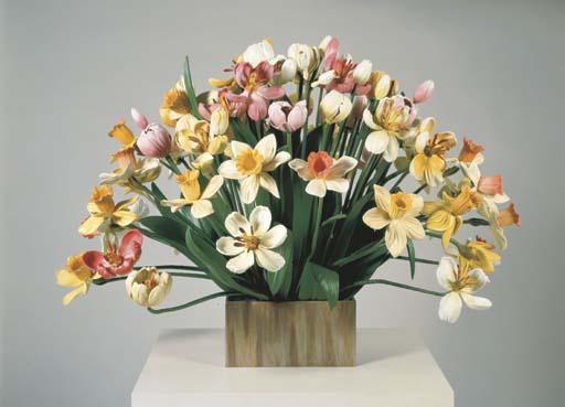 Jeff Koons B 1955 Small Vase Of Flowers Christies