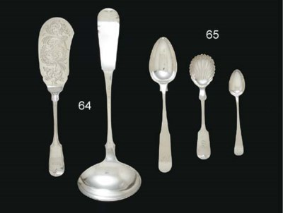 A GROUP OF SILVER SPOONS