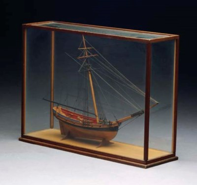 A SHIPS MODEL OF A WARRING VES